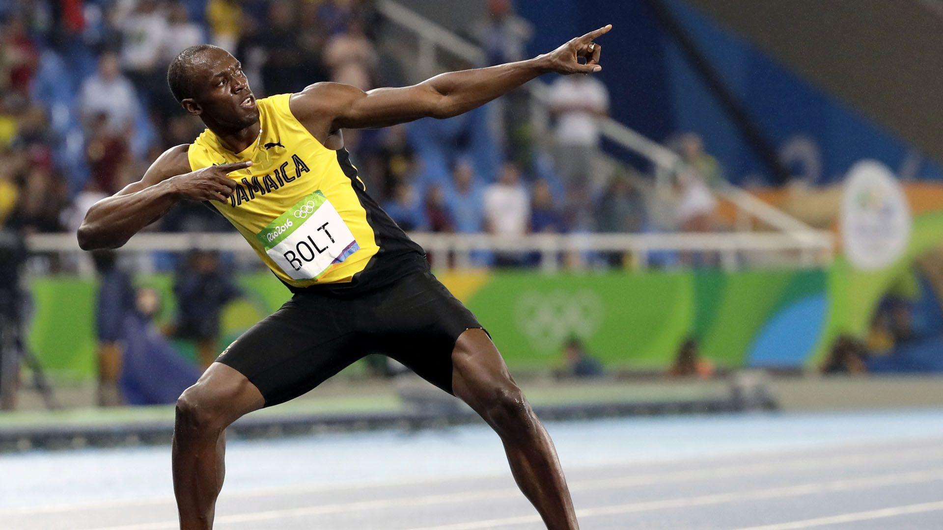 Maiores corredores do mundo-Usain Bolt
