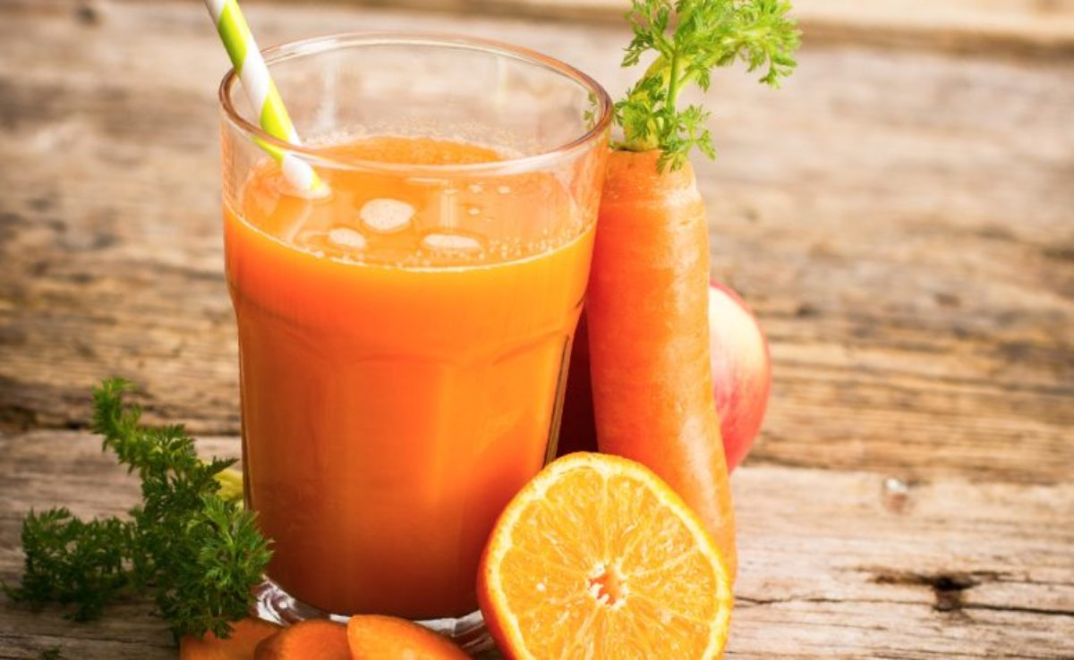 Suco de Cenoura e Laranja