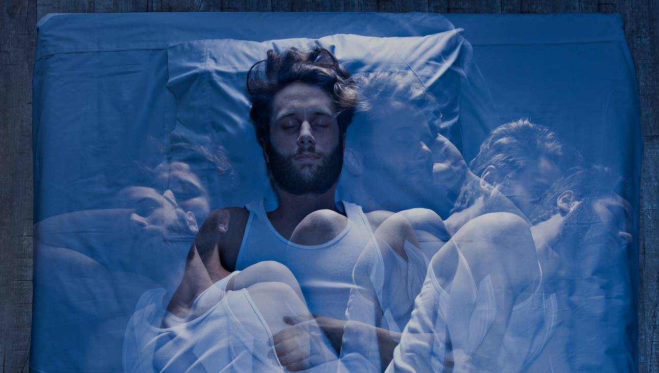 corpo trabalhando durante o sono