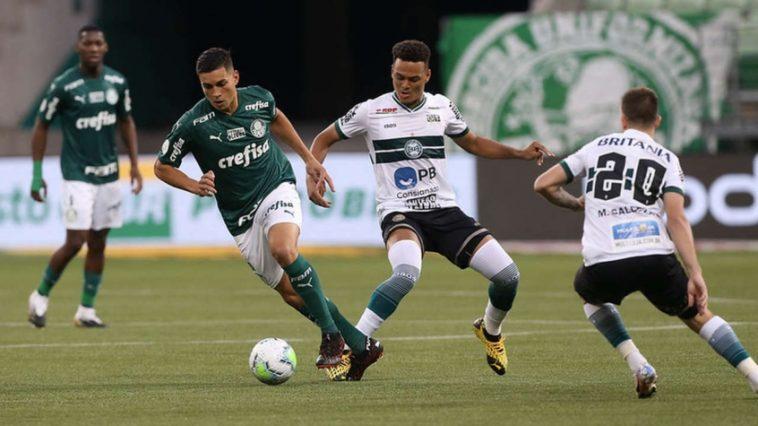 Em jogo transmitido ao vivo, Palmeiras perde para o Coritiba