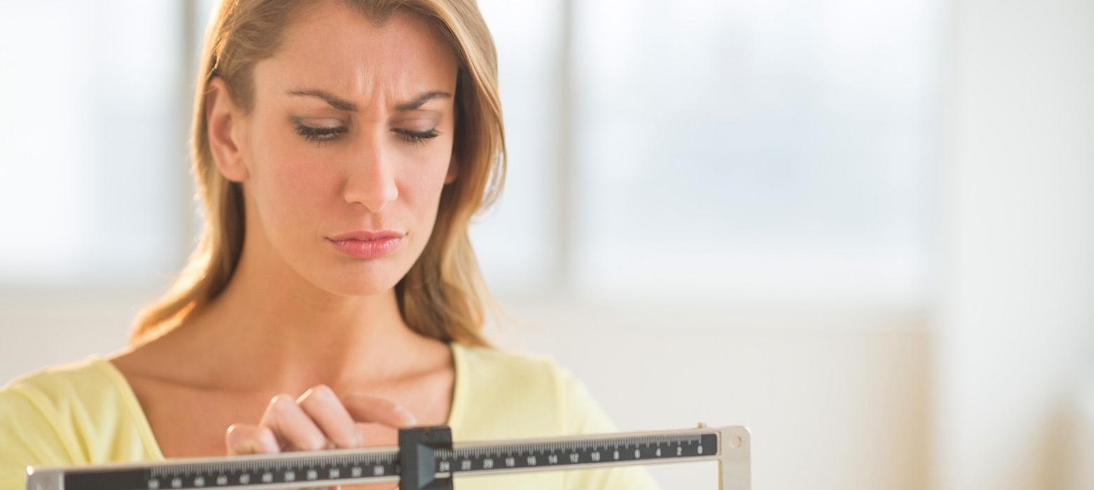 Perda de peso incomum