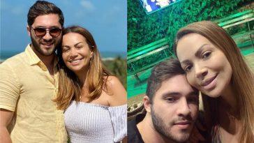Solange Almeida e Monilton Moura